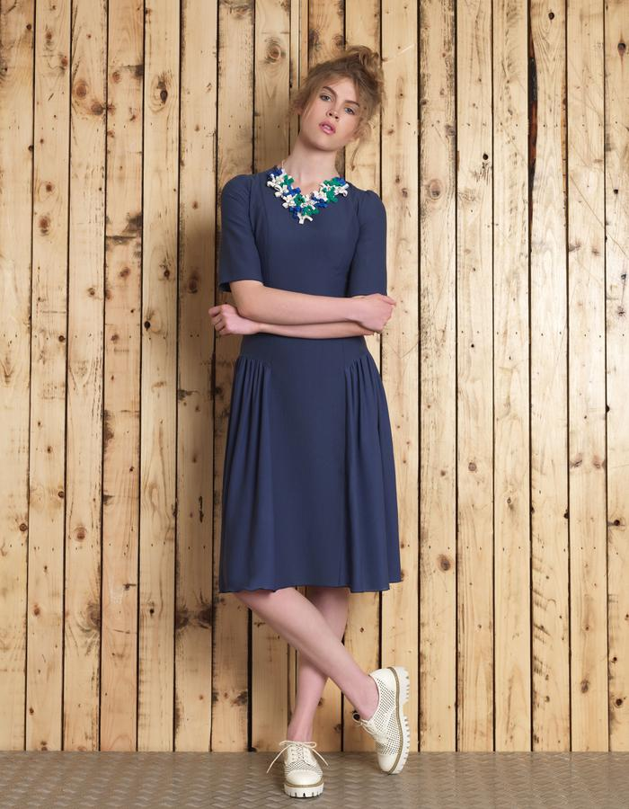 Manley SS16 /// Cori Dress & Cori Necklace