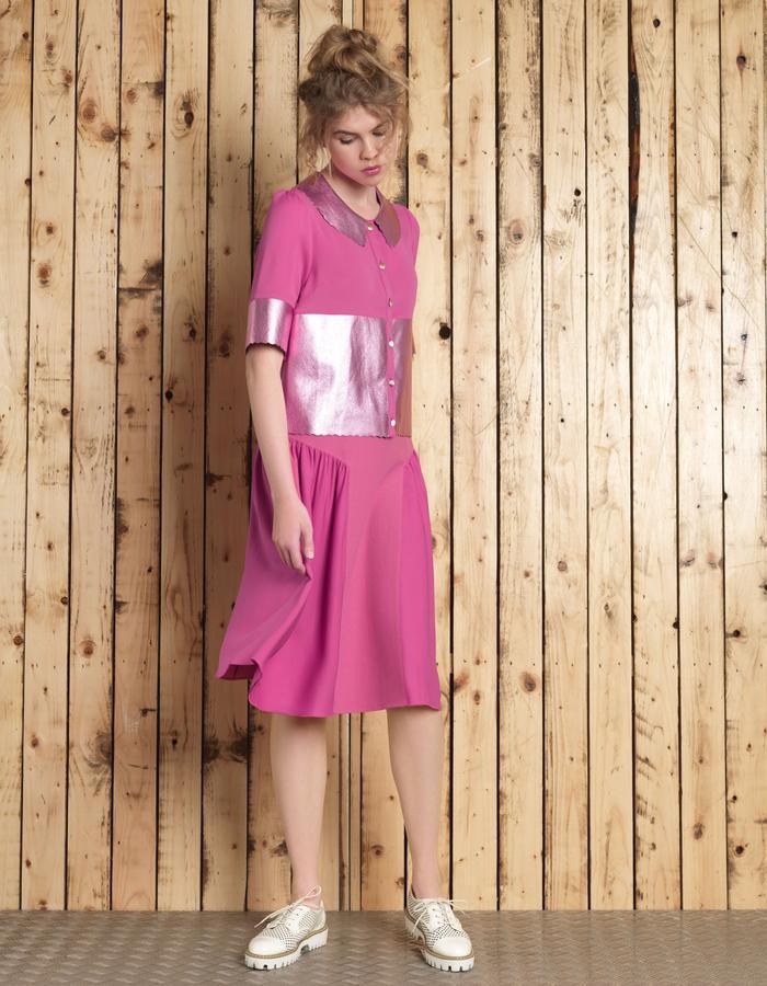 Manley SS16 /// Cori Shirt & Cori Skirt