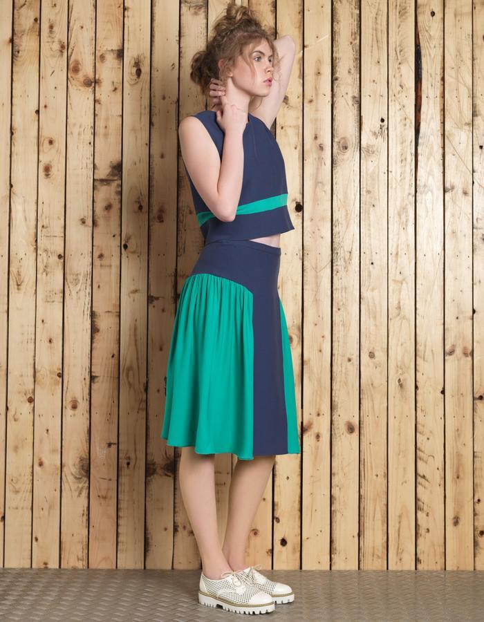 Manley SS16 /// Lana Crop & Cori Skirt