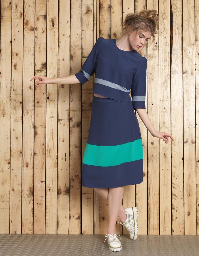 Manley SS16 /// Lana Crop & Lana Skirt