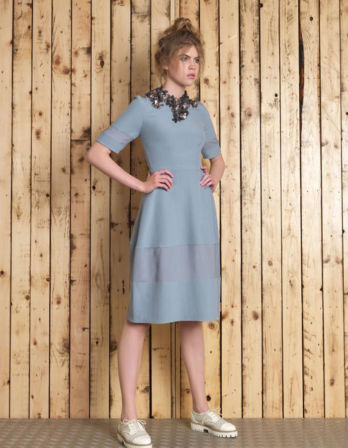 Manley SS16 /// Lana Dress & Boxter Collar