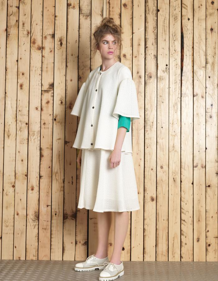 Manley SS16 ///  Sue Skirt & Sue Coat