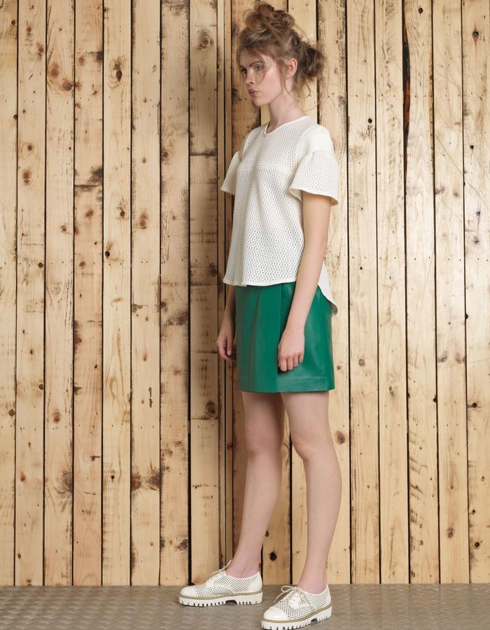 Manley SS16 /// Sue Tee & Skyler Skirt