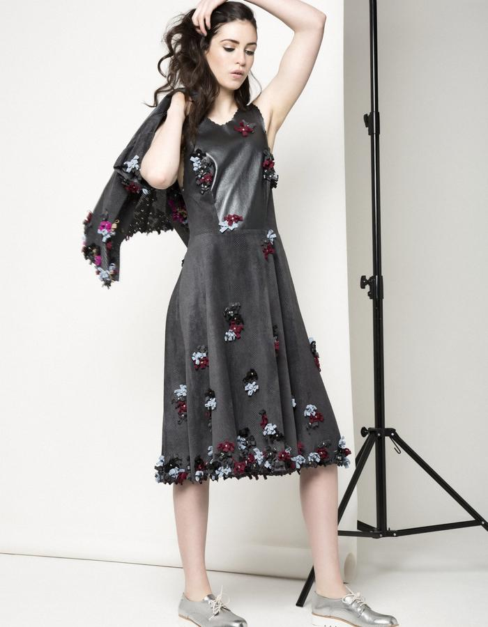 Manley AW15 /// Carly Bow Dress