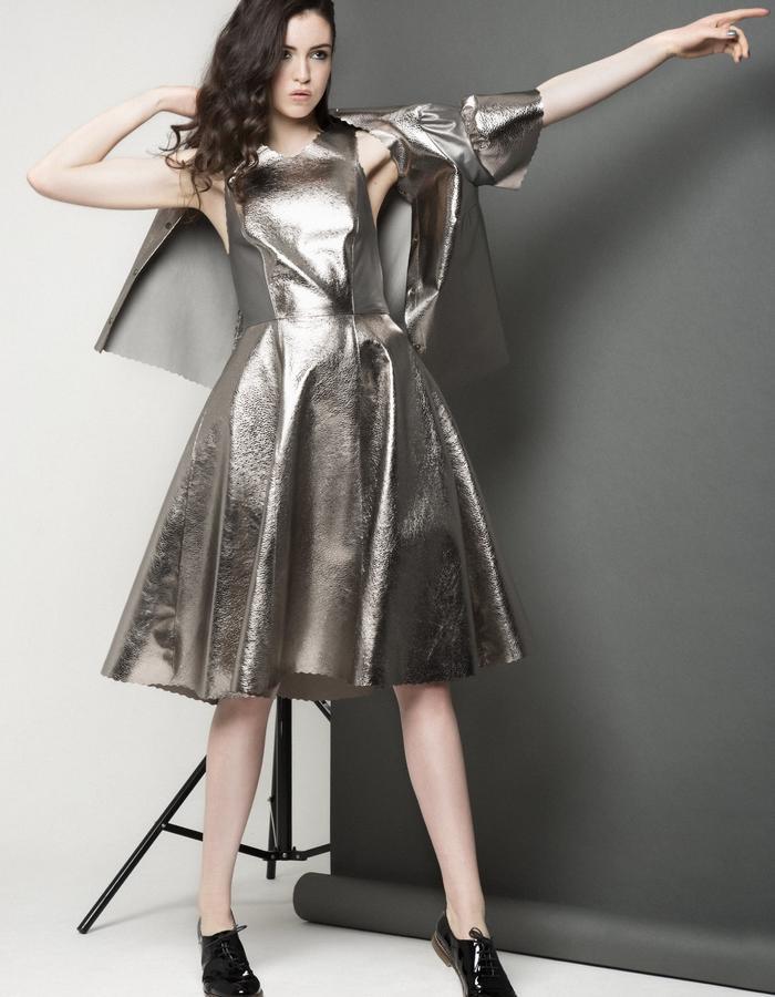 Manley AW15 /// Carly Bubble Dress & Maya Bubble Coat
