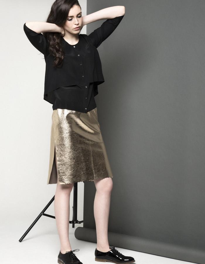 Manley AW15 /// Carly Shirt & Maya Bubble Skirt