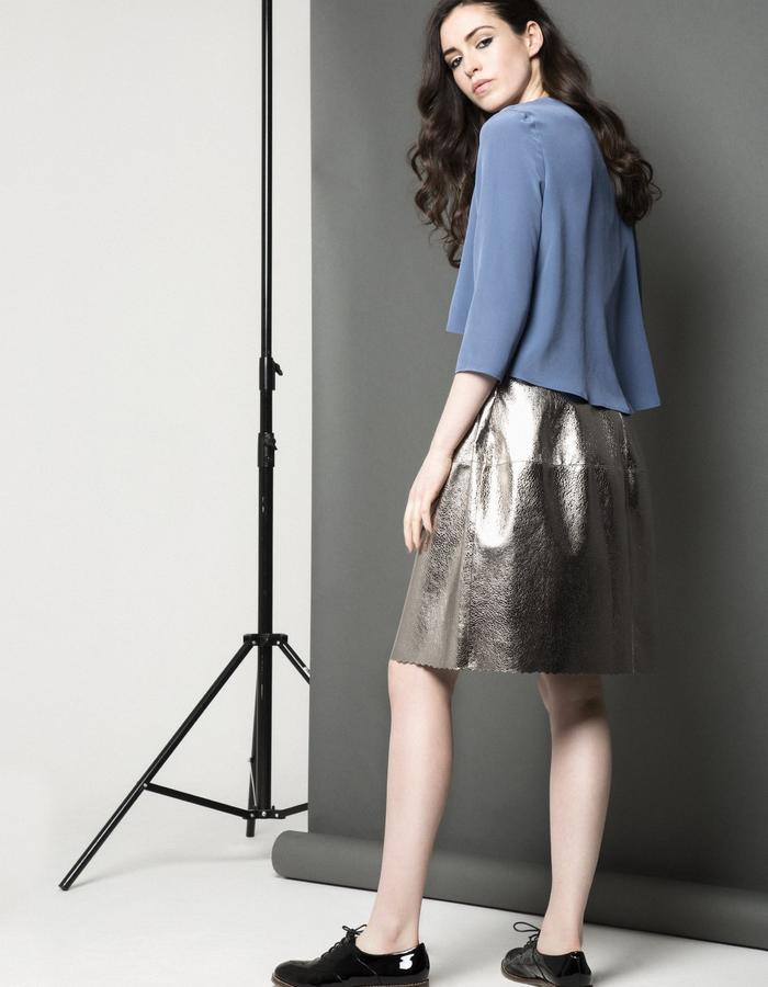 Manley AW15 /// Carly Shirt & Lexi Bubble Skirt
