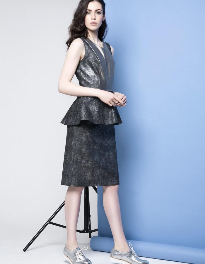 Manley AW15 /// Lexi Leather Dress