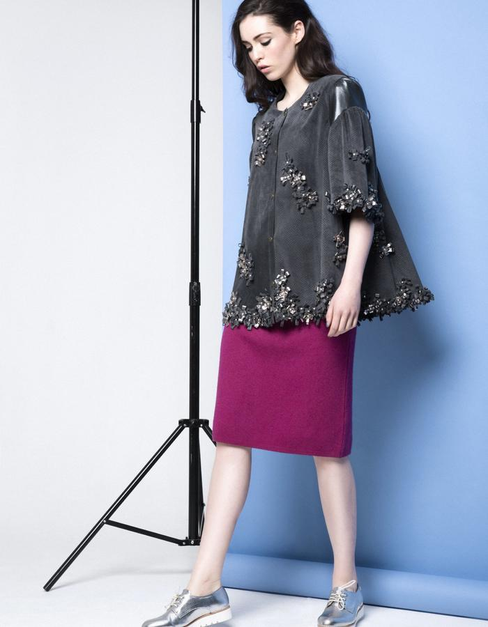 Manley AW15 /// Maya Bow Coat & Robin Skirt