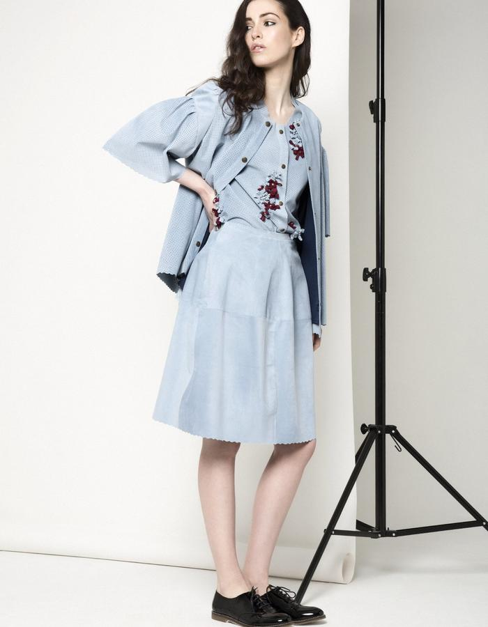 Manley AW15 /// Maya Bow Jacet & Lexi Skirt
