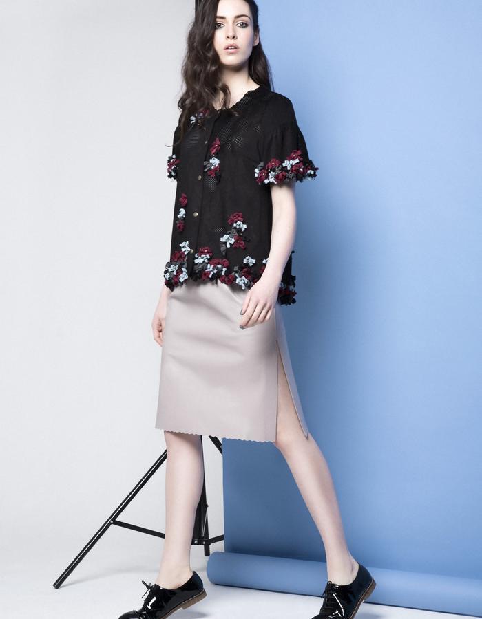 Manley AW15 /// Maya Bow JAcket & Maya Skirt