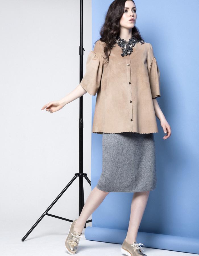 Manley AW15 ///  Maya Coat & Robin Skirt