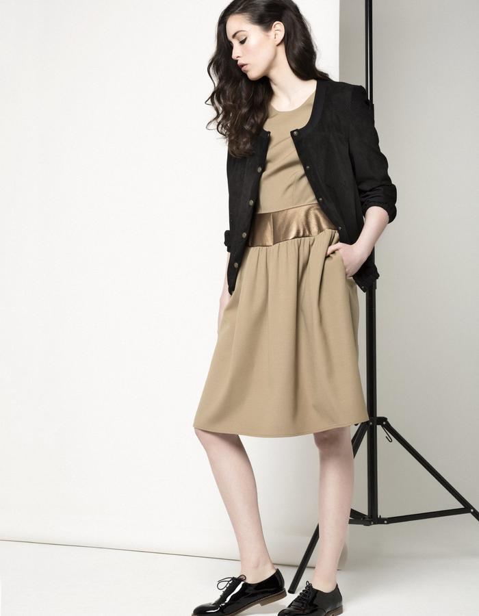 Manley AW15 ///  Maya Dress & Carly Bomber