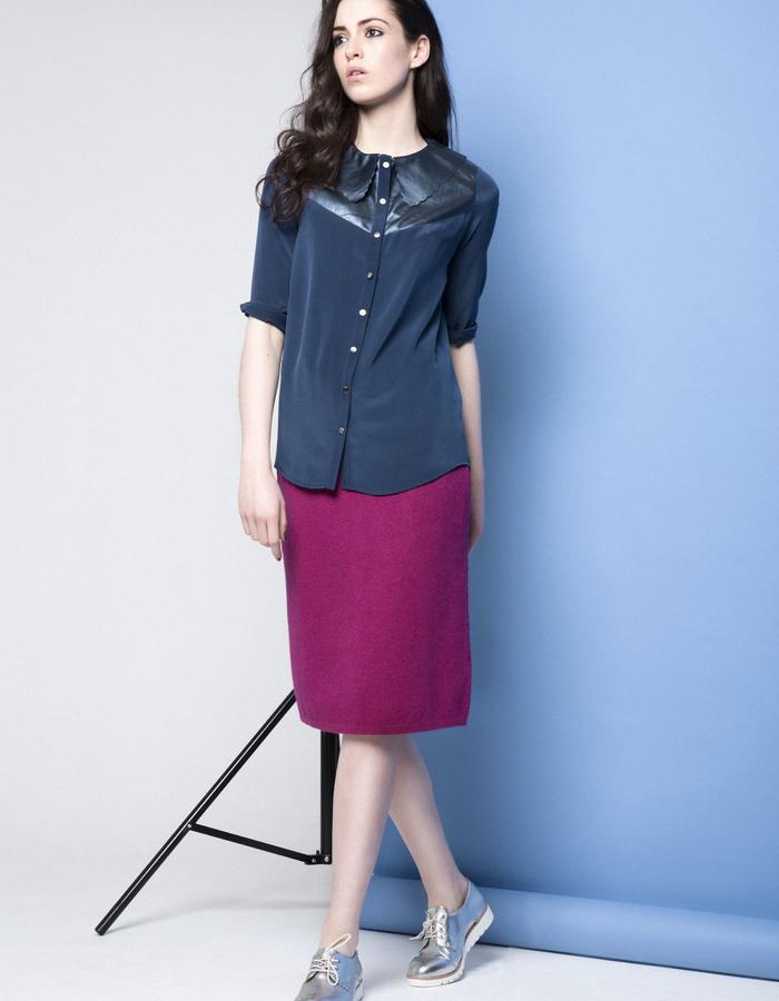 Manley AW15 ///  Maya Shirt, Maya Collar & Robin Skirt