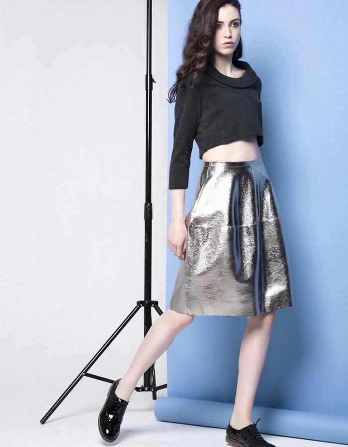 Manley AW15 ///  Robin Crop & Lexi Bubble Skirt