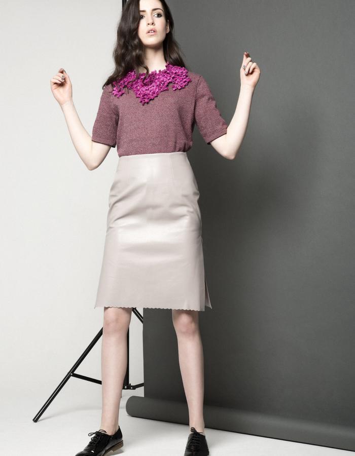 Manley AW15 ///  Robin Tee, Maya Collar & Maya Skirt
