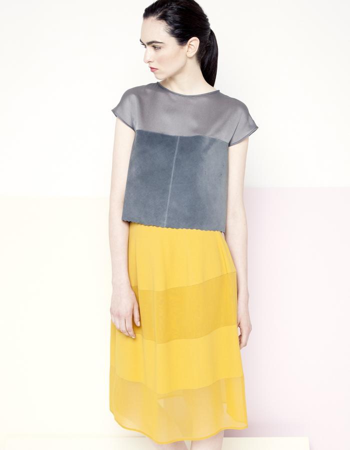 Manley SS15 /// Piper Top & Piper Skirt