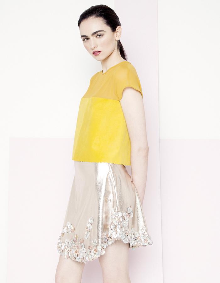 Manley SS15 /// Piper Crop & Sian Skirt