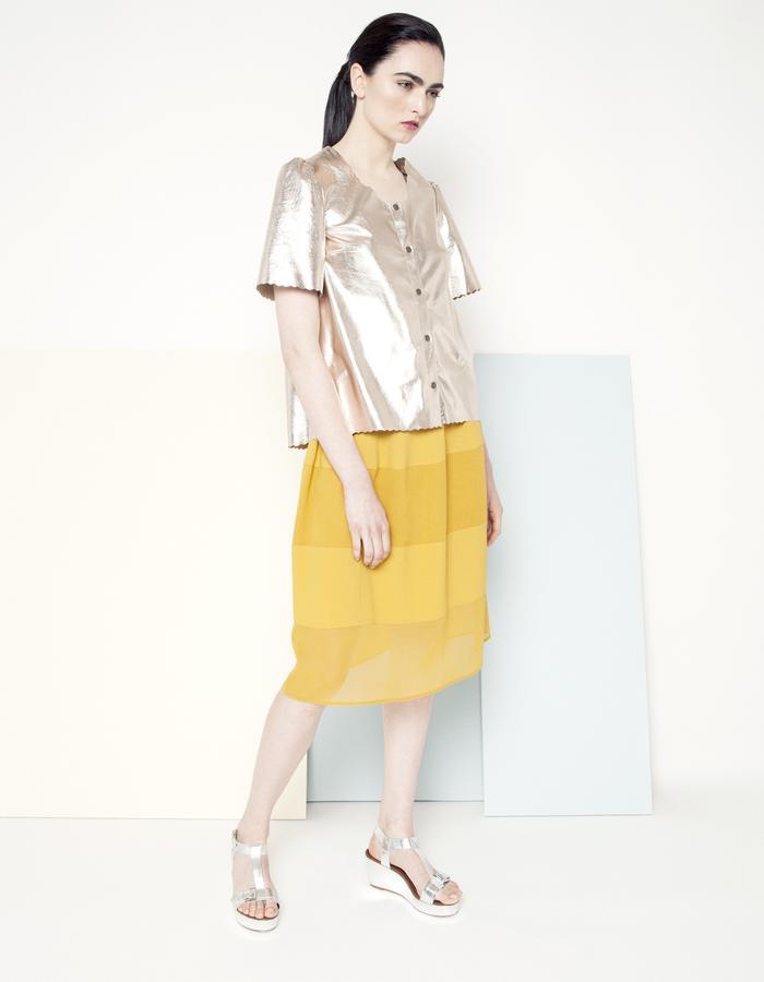 Manley SS15 /// Sian Jacket & Piper Skirt