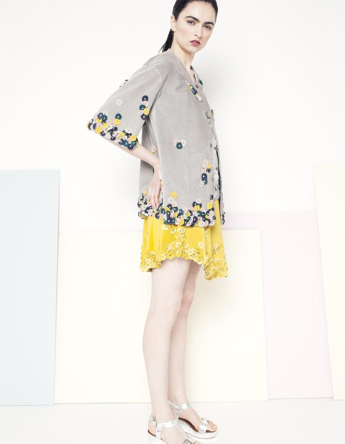 Manley SS15 /// Sian Coat & Sian Skirt