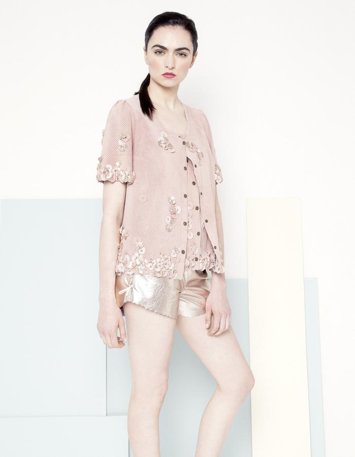 Manley SS15 /// Sian Petal Jacket & Sian Shorts
