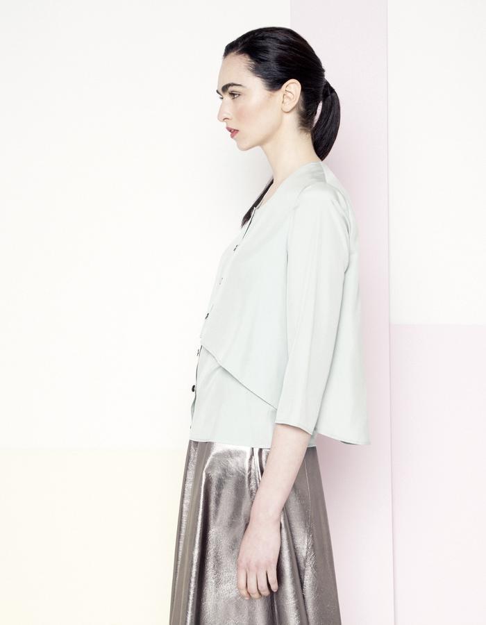 Manley SS15 /// Sian Shirt & Sian Skirt