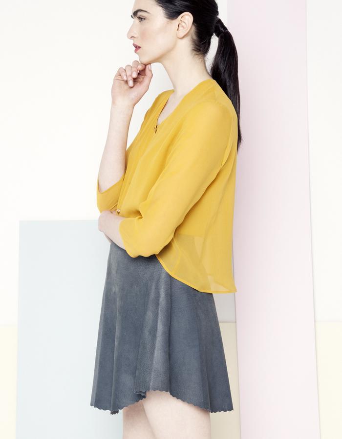 Manley SS15 /// Sian Shirt & Mila Skirt