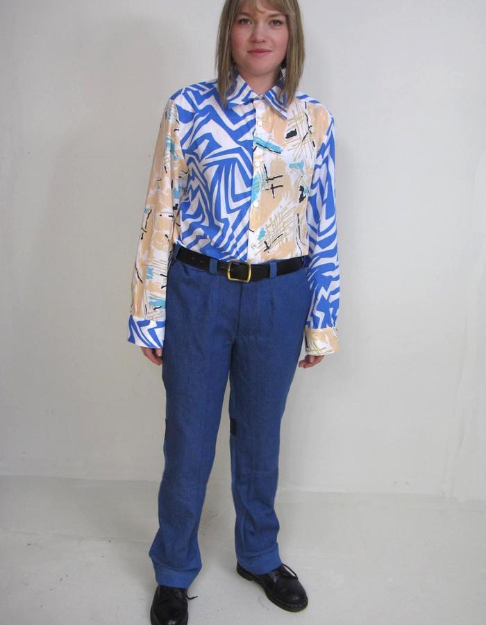 Not a BLUE shirt, Just Denims Blue