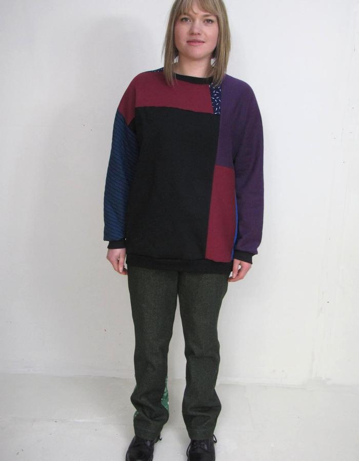 off-cut sweater, Just Denims Green