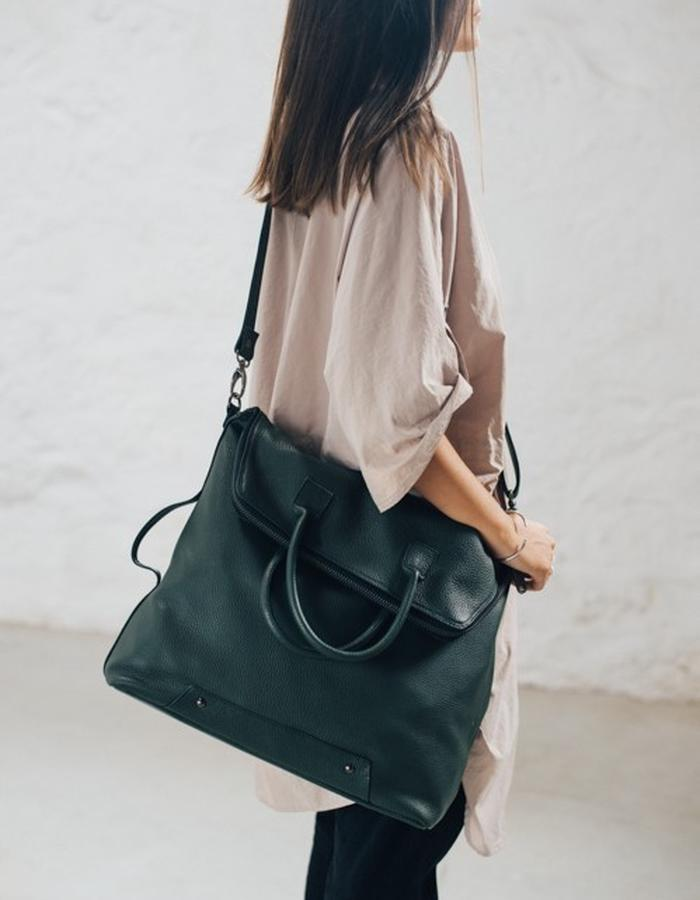 messenger_bag_green_leather_brand