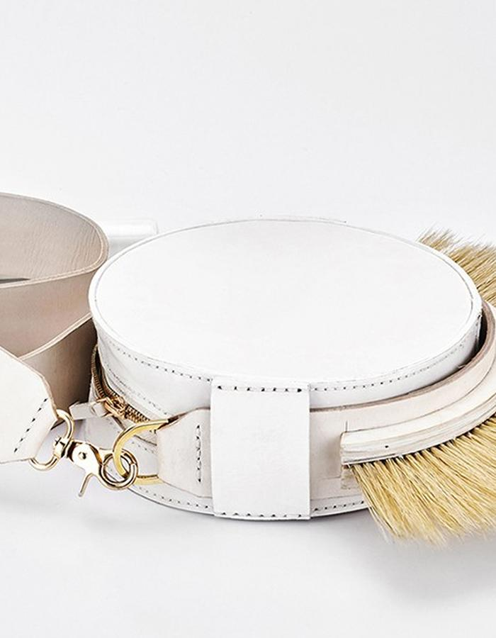 leatherlikewood /  Tube Shoulder Bag