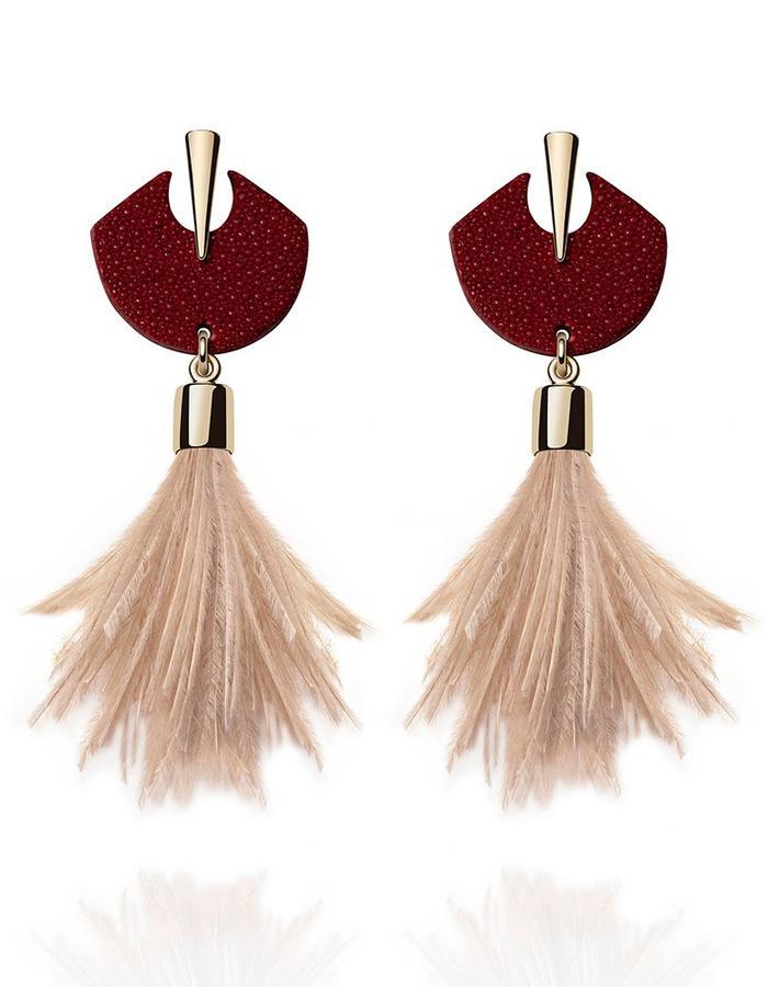 Macaw Earrings