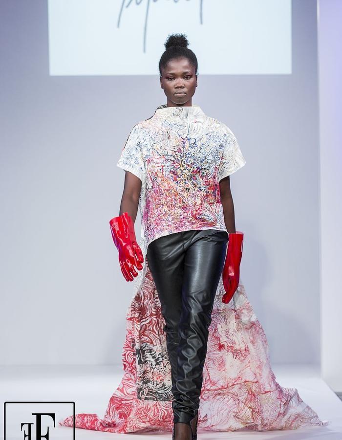 Model: Aramatou Toure