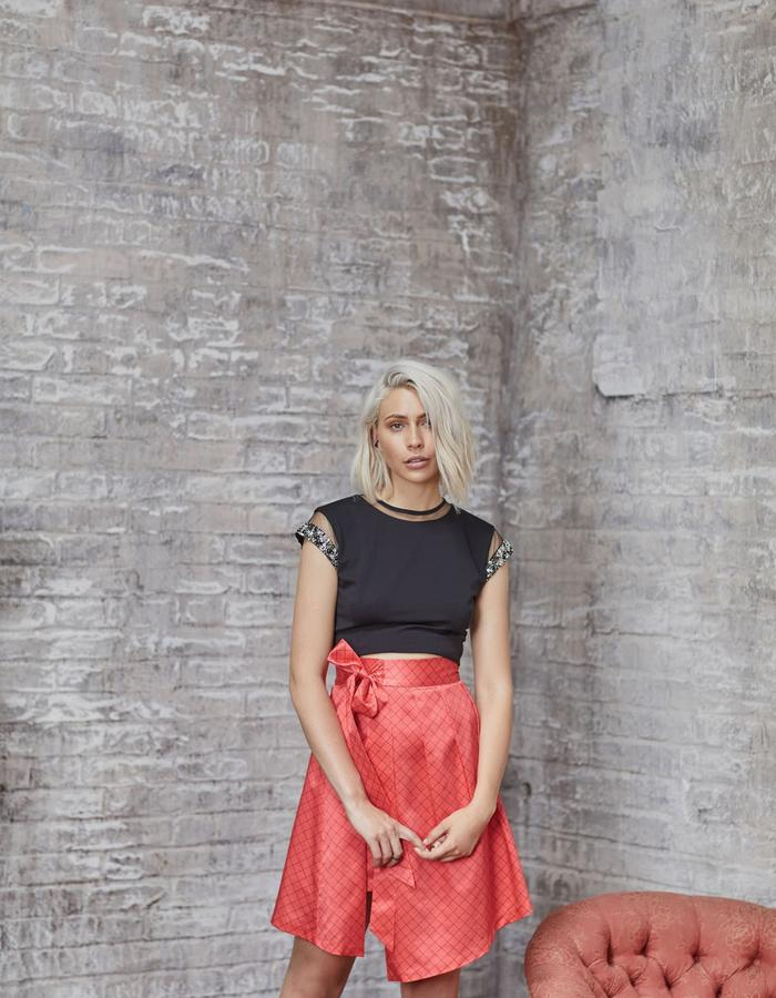 Emma Wallace SS18 Cara Top and Gia Skirt
