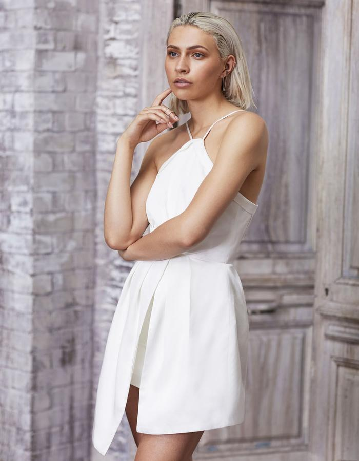 Emma Wallace SS18 Abby Dress White