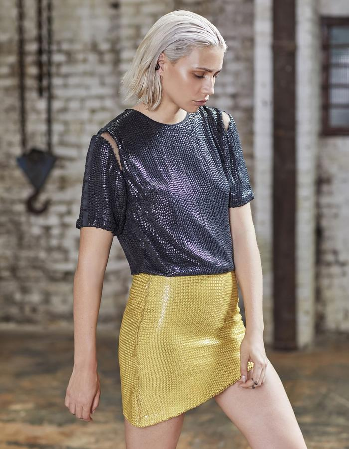 Emma Wallace SS18 Casey top and Jeannie skirt