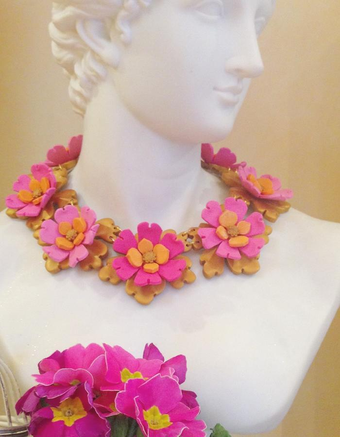 Floral Collar Necklace