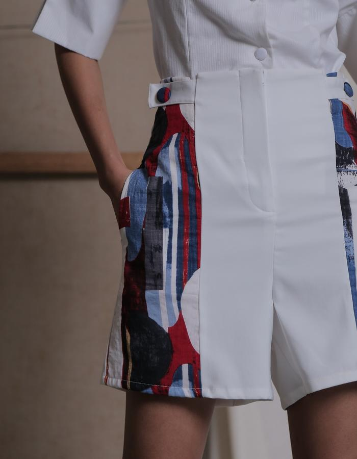 ZHETTOVA Studio SS 2018 - SYRE High Waist Shorts