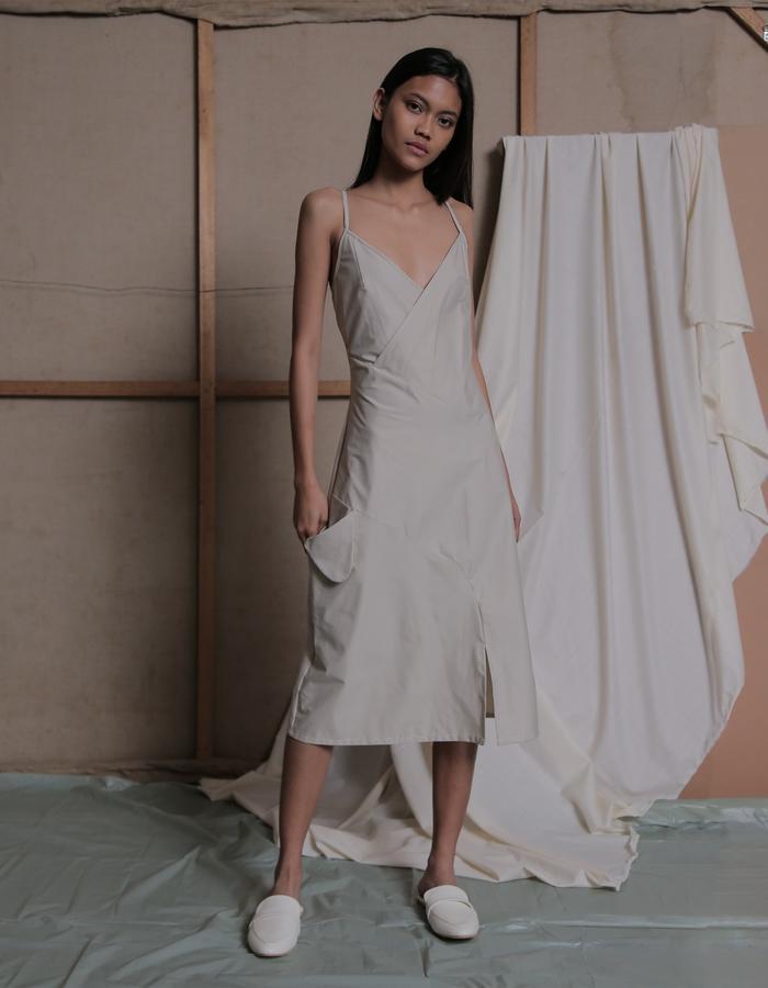 ZHETTOVA Studio SS 2018 - WILLO Dress in Khaki