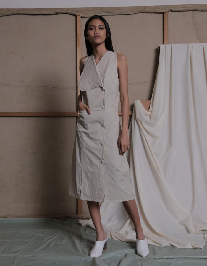 ZHETTOVA Studio SS 2018 - ULSAN Button Up Dress