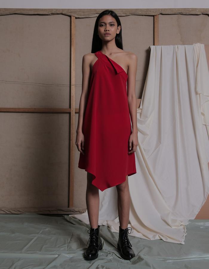 ZHETTOVA Studio SS 2018 - REJA Asymmetric Dress