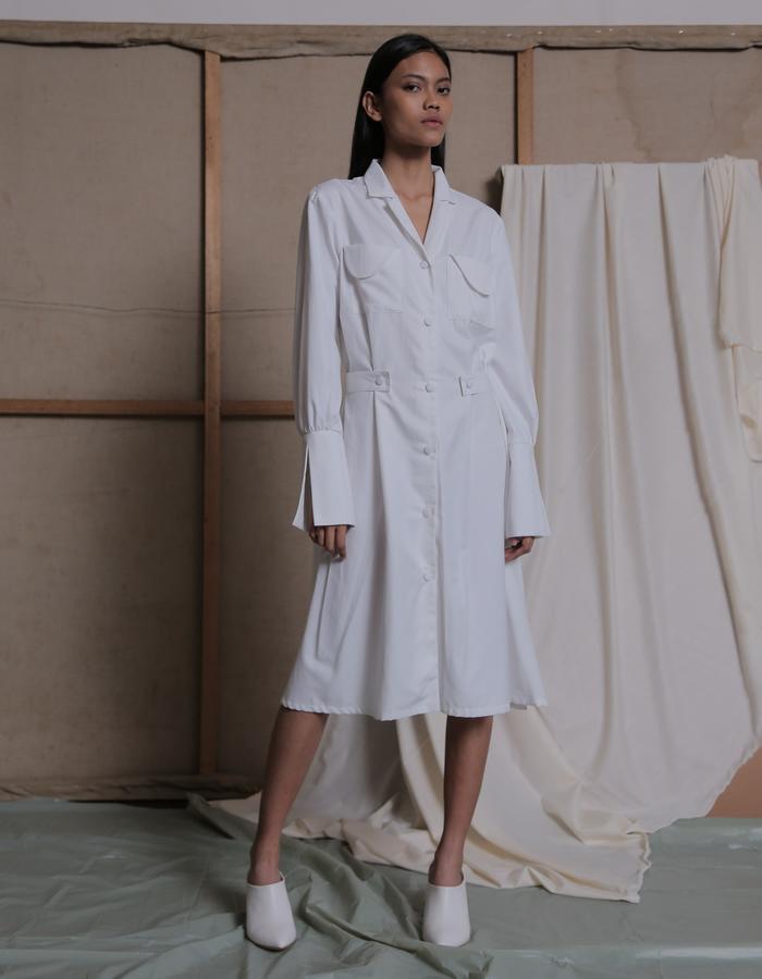 ZHETTOVA Studio SS 2018 - STAVA Shirt Dress