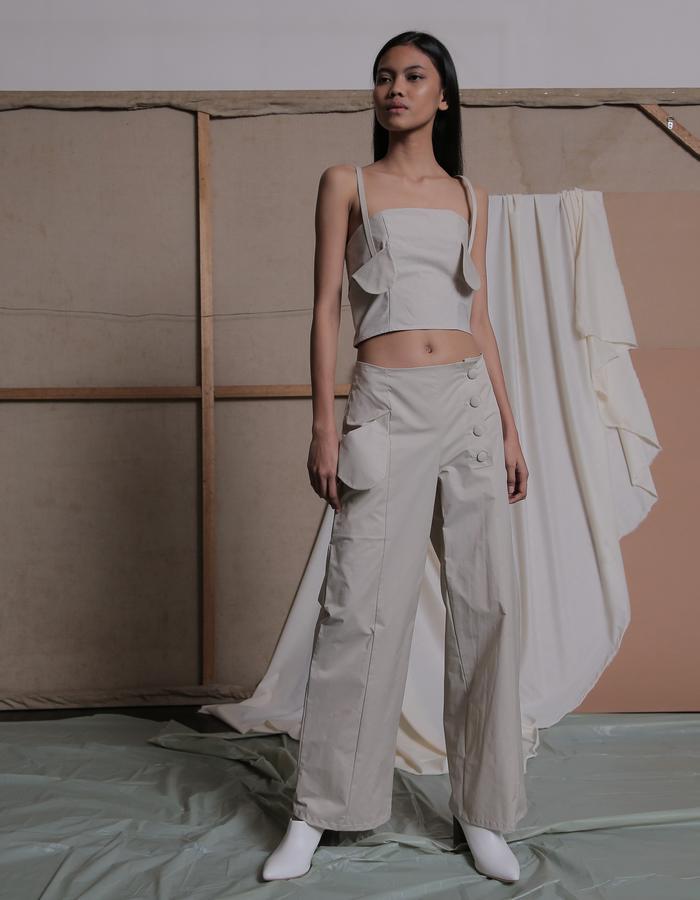 ZHETTOVA Studio SS 2018 - ABRIL Pants