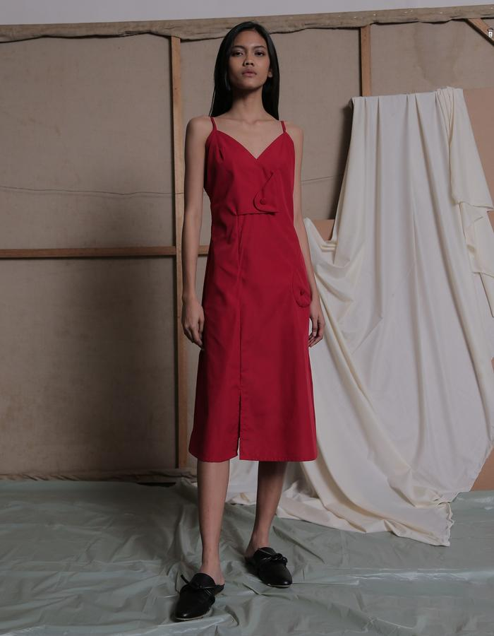 ZHETTOVA Studio SS 2018 - MIJA Midi Dress