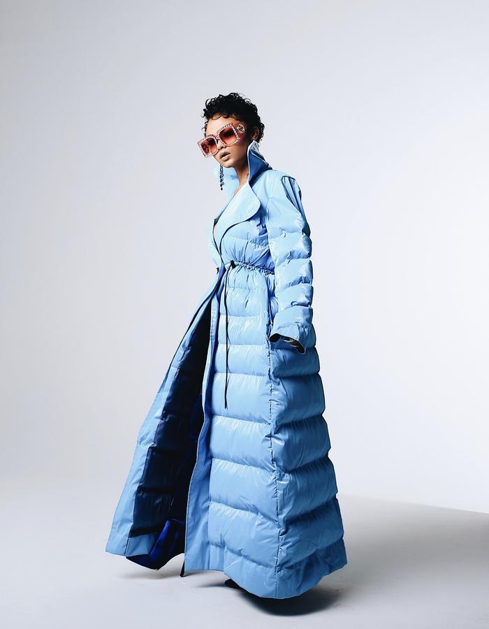 So Icy Puffer Coat