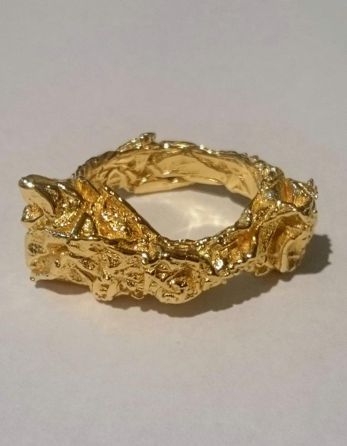 18K Yellow Gold Ring