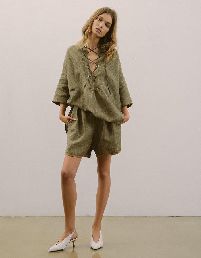 #linen #vintage #womens #dress #blouse #tunic #shorts #modapolka