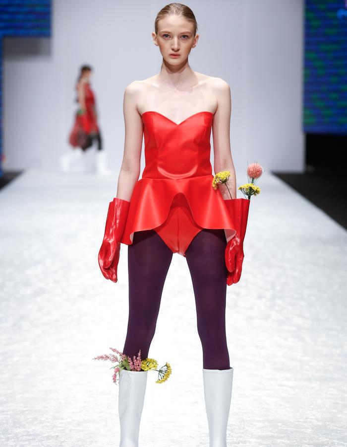 photo BFW model Anastasija Despotovic