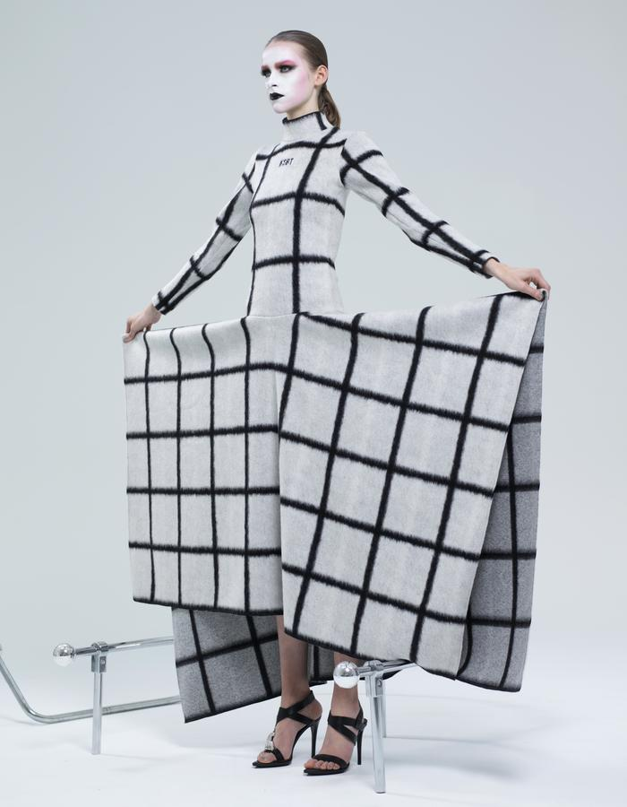 KSRT STUDIO SQUARED DRESS