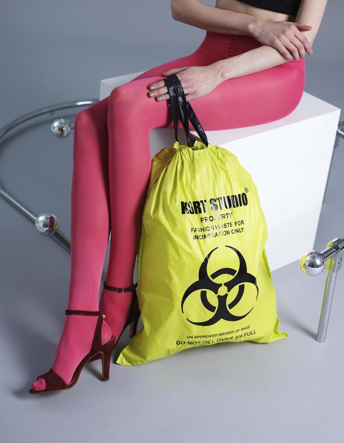 KSRT STUDIO FASHION WASTE BAG